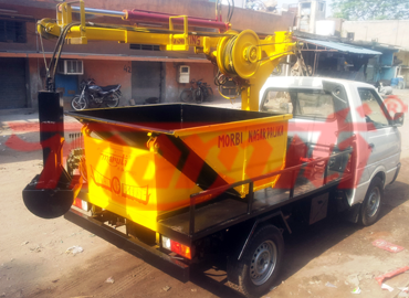 D silting Machine with tata ace