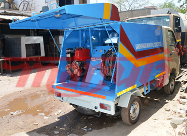 D Silting Machine