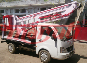 Sky Lift With Tata Ace